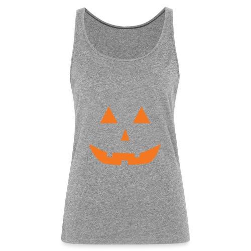 Jack-O-Lantern T Shirt - Women's Premium Tank Top