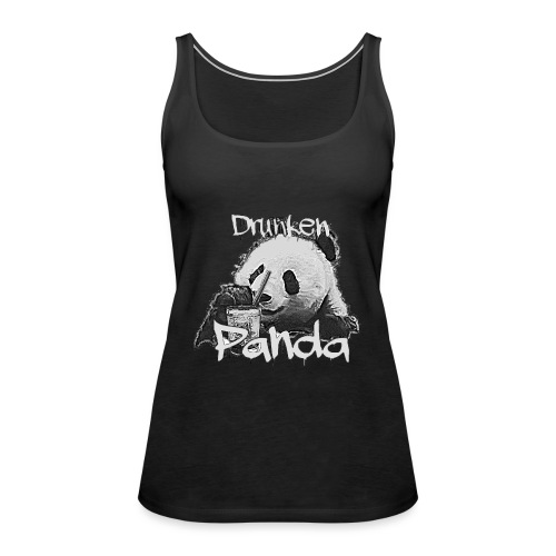Drunken Panda - Frauen Premium Tank Top