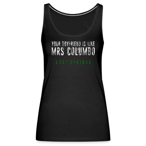 MrsColumboLostSprings3 png - Frauen Premium Tank Top