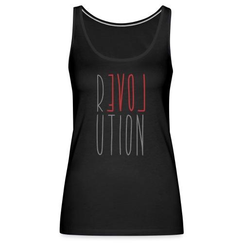 Love Peace Revolution - Liebe Frieden Statement - Frauen Premium Tank Top