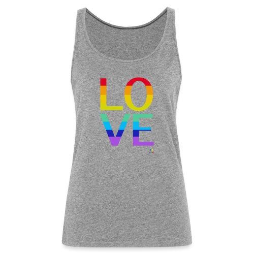 Love Rainbow - Débardeur Premium Femme