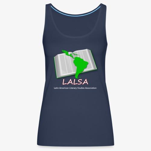 LALSA Light Lettering - Women's Premium Tank Top