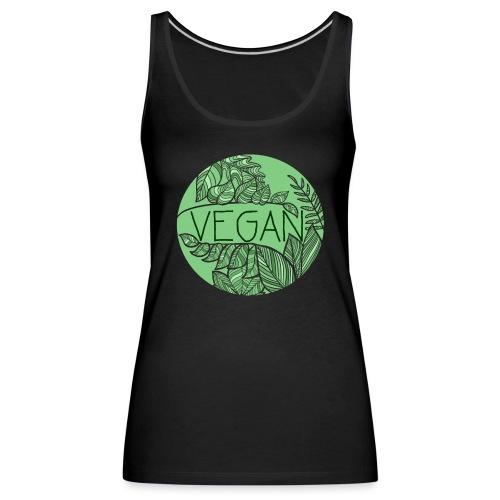 Vegan und Blättersalat - Frauen Premium Tank Top
