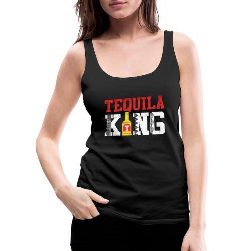 Tequila King - Women's Premium Tank Top