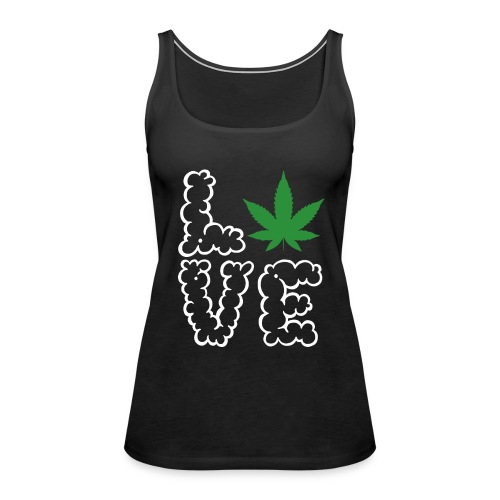 Love Weed - Frauen Premium Tank Top