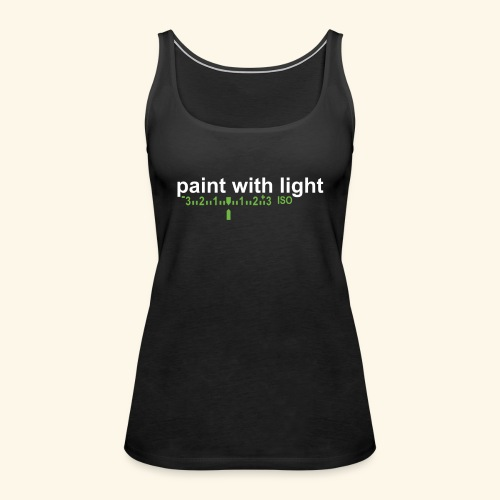 paint with light - Frauen Premium Tank Top