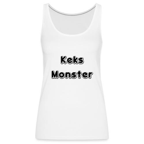 Keks Monster - Frauen Premium Tank Top