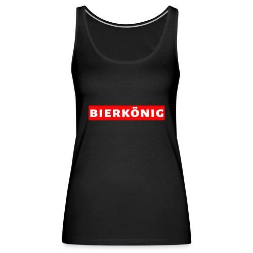 Bierkönig Trendy Design - Frauen Premium Tank Top