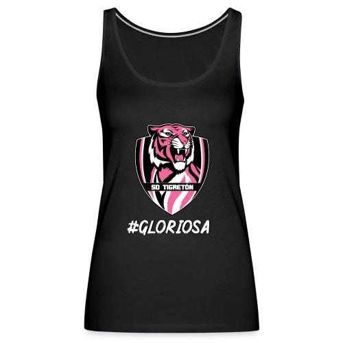 GLORIOSA SD TIGRETÓN - Camiseta de tirantes premium mujer