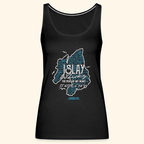 Tasting Notes Islay Whisky T Shirt Design - Frauen Premium Tank Top