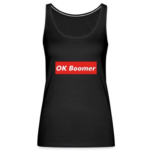 OK Boomer Meme - Women's Premium Tank Top