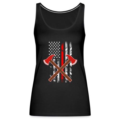 Amerika Feuerwehr - Frauen Premium Tank Top