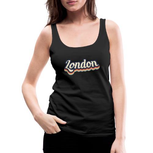 Vintage London Souvenir - Retro London - Frauen Premium Tank Top
