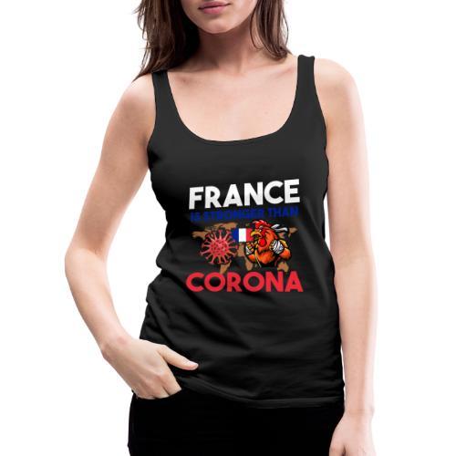 France against Corona - Frauen Premium Tank Top