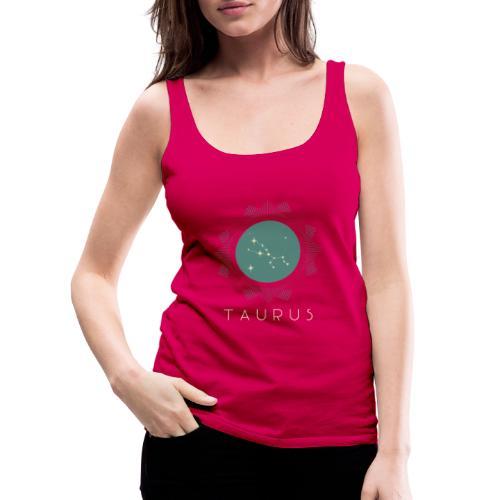 zodiac t shirt design template 1426a - Dame Premium tanktop