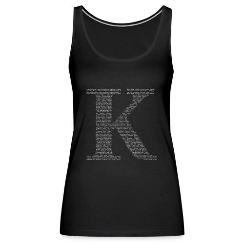 K - Frauen Premium Tank Top