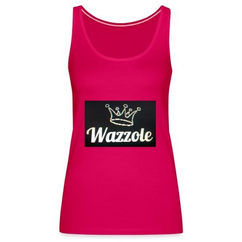 Wazzole crown range - Women's Premium Tank Top