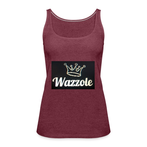 Wazzole crown range - Women's Premium Tank Top