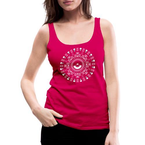 Speaker Mandala - Women's Premium Tank Top