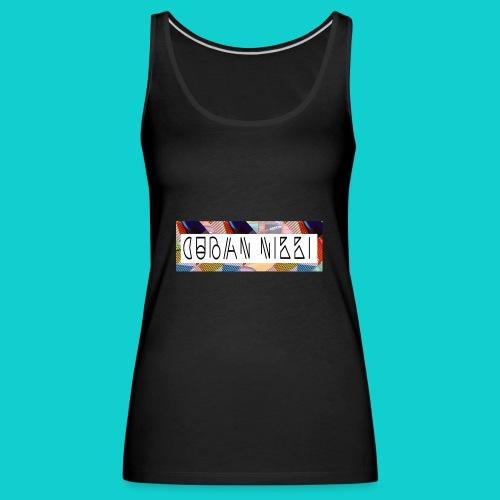 Cuban Nikki Logo - Women's Premium Tank Top