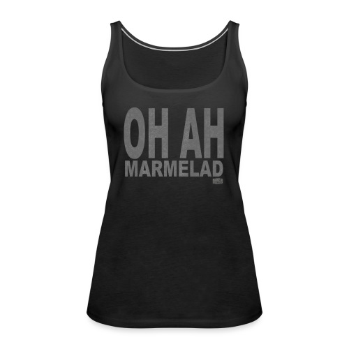 Marmelad5grey - Premiumtanktopp dam
