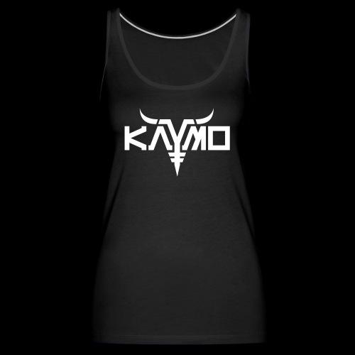 KayMo Logo - Premium singlet for kvinner