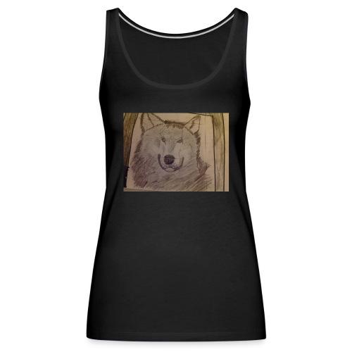 Wolf hoodie etc - Women's Premium Tank Top