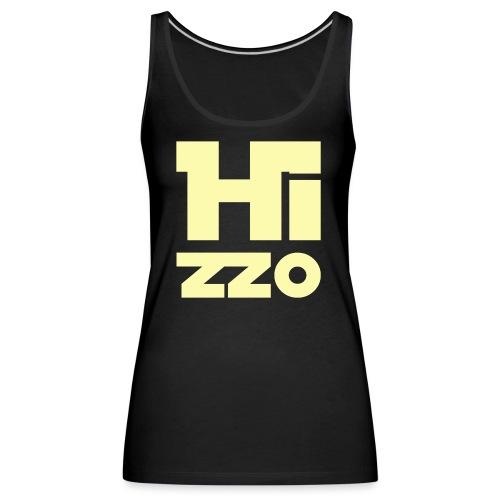 HIZZO_Star_light yellow - Frauen Premium Tank Top