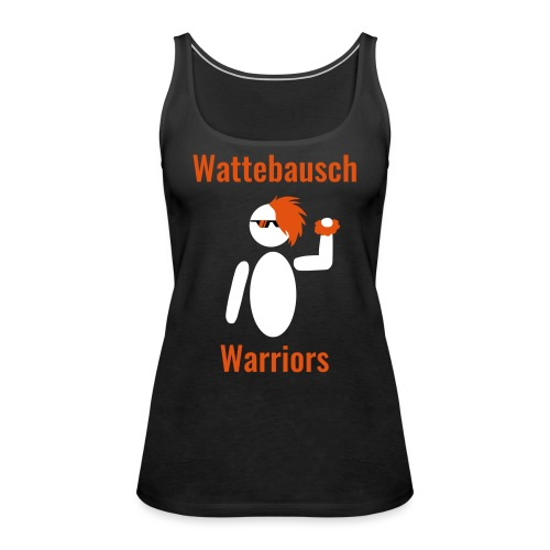 Wattebausch Warriors Orange II - Frauen Premium Tank Top