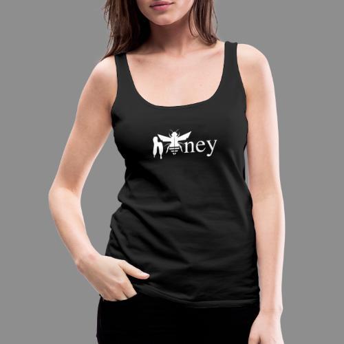 Honey (White version) - Women's Premium Tank Top