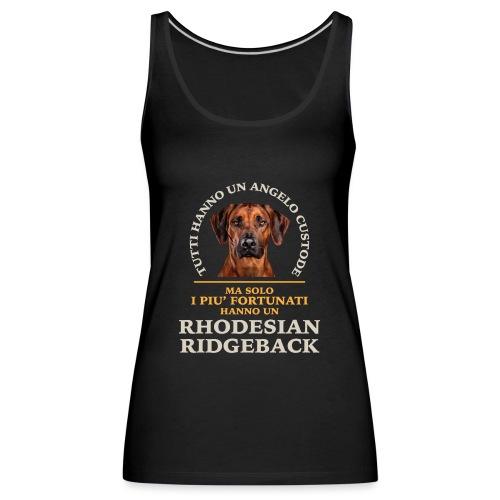 Rhodesian Ridgeback Colori - Canotta premium da donna