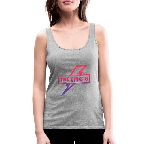 The Epic 8 - värillinen logo - Naisten premium hihaton toppi