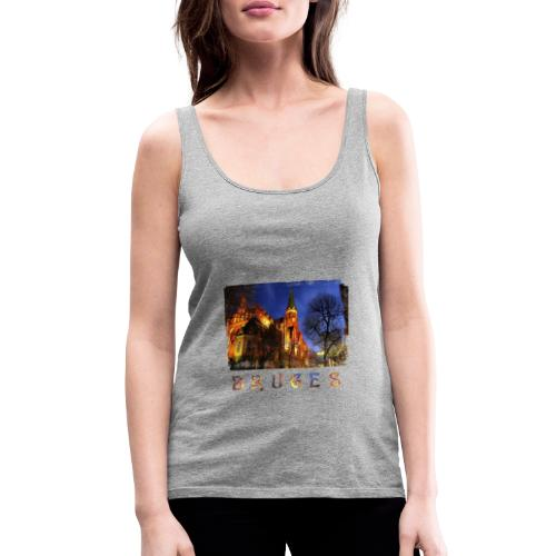Bruges | By Night - Vrouwen Premium tank top