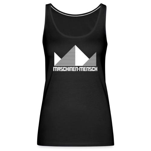 Maschinen-Mensch Logo black - Frauen Premium Tank Top