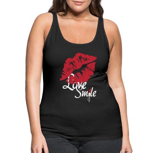 love smile n - Camiseta de tirantes premium mujer