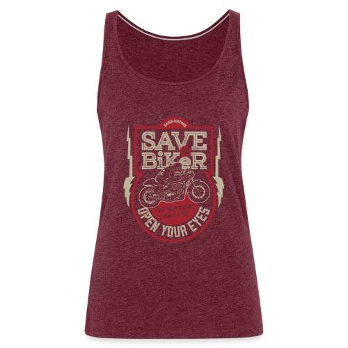 Save A Biker - Women's Premium Tank Top