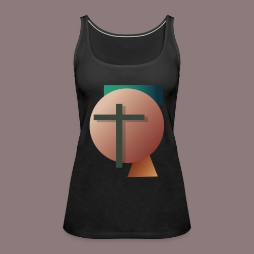 Retro Cross - Frauen Premium Tank Top