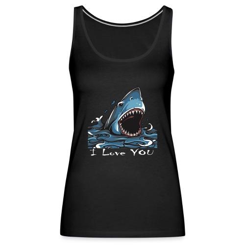 Der Hai, der Dich liebte - Frauen Premium Tank Top