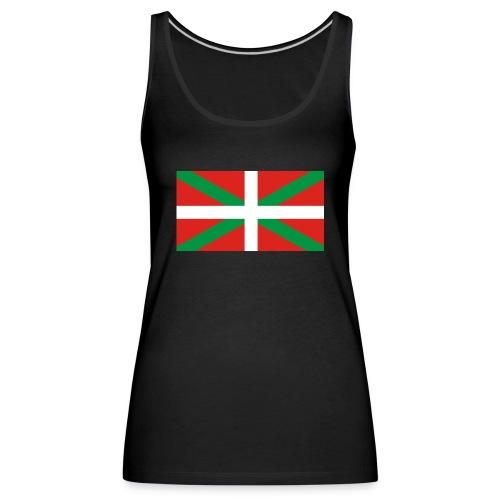 Camiseta ikurriña - Camiseta de tirantes premium mujer
