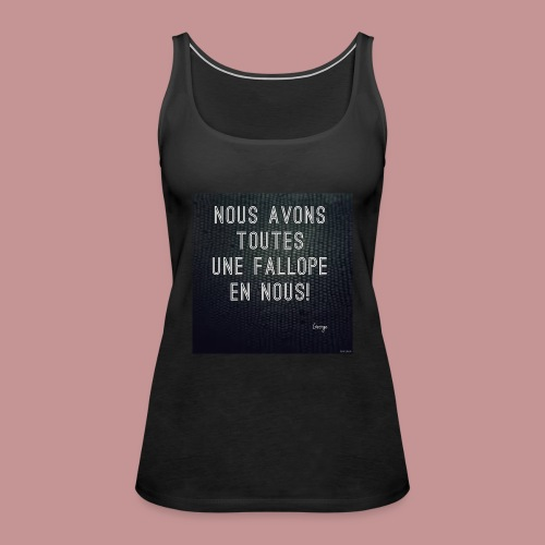 Fallope - Débardeur Premium Femme