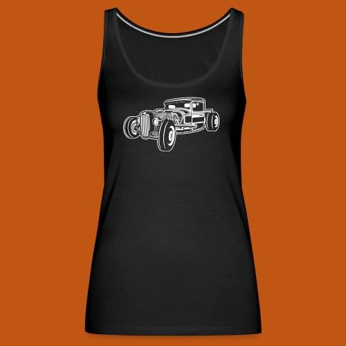 Hot Rod / Rad Rod 06_weiß - Frauen Premium Tank Top