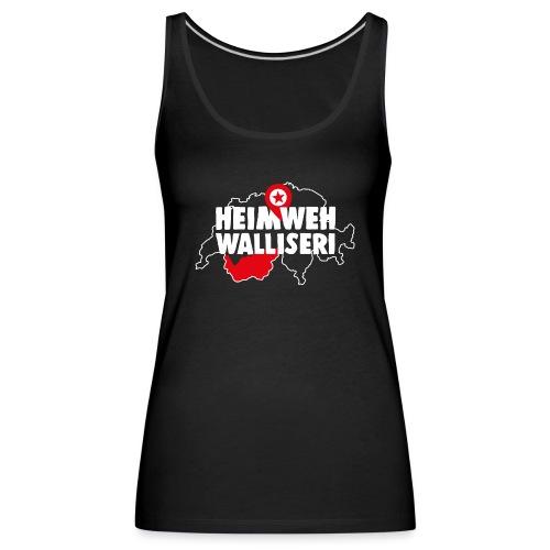 HEIMWEH WALLISERI - Frauen Premium Tank Top