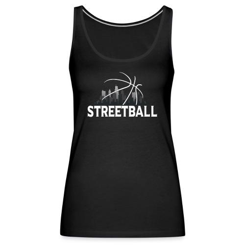 Streetball Skyline - Street basketball - Women's Premium Tank Top