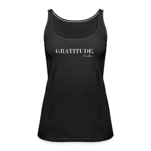 GRATITUDE - Débardeur Premium Femme