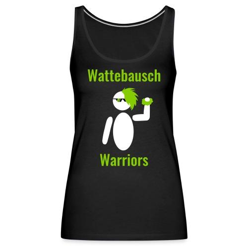 Wattebausch Warriors Grün II - Frauen Premium Tank Top