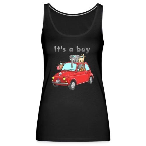 It's a boy - Baby - Cartoon - lustig - Frauen Premium Tank Top