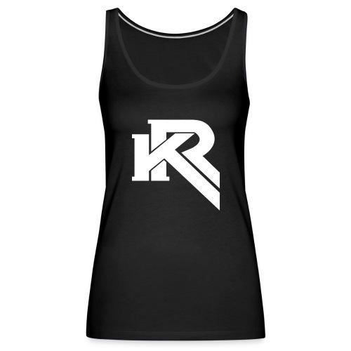 KR - Camiseta de tirantes premium mujer