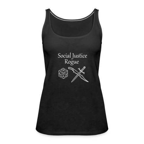 Social Justice Rogue - Women's Premium Tank Top