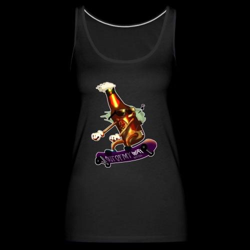 Skatepunk beer - Canotta premium da donna