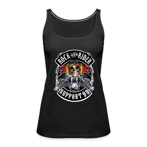 ROCK AND RIDER - Camiseta de tirantes premium mujer
